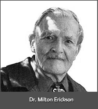 Milton Erickson, the father of modern hypnotherapy