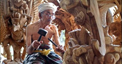 Bali Ubud woodwork