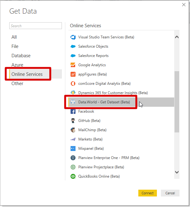 Power Bi Get Data