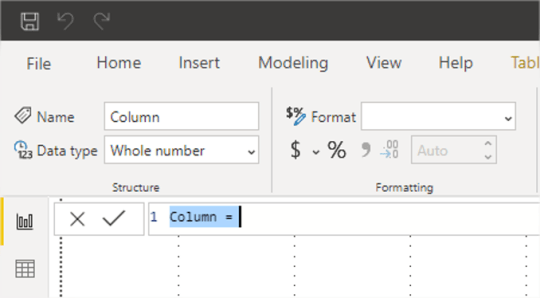 Power BI Calculated Column Formula