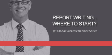 Jet Resource Success Webinar Report Writing Where To Start