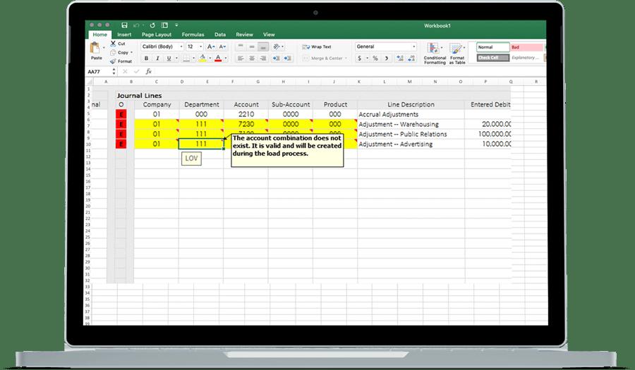 Journalwand Feature 3 Errormessaging
