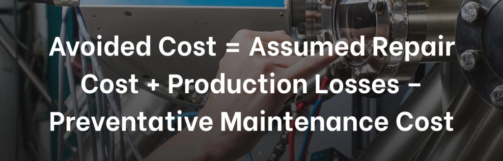 Manufacturing KPI Avoided Cost
