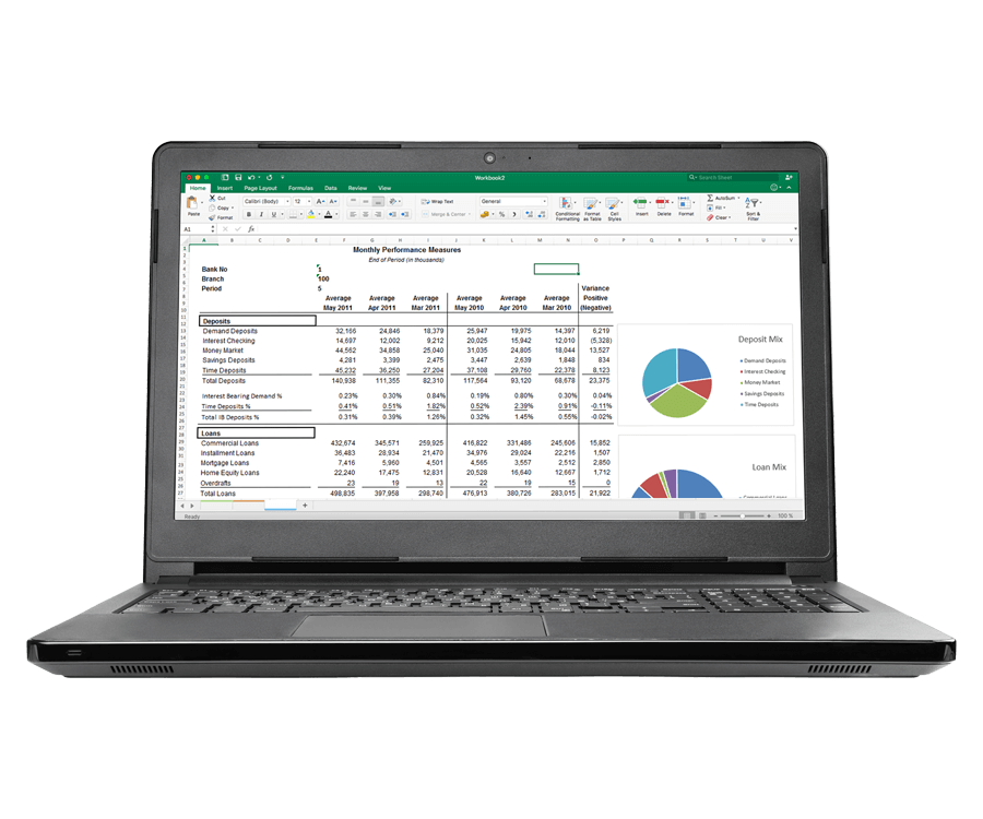 Banking Reporting Software