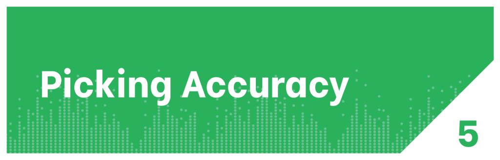 Picking Accuracy Distribution KPI
