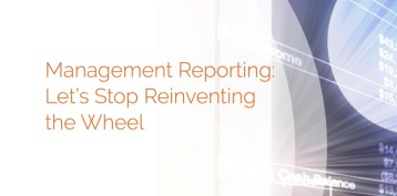 Management Reporting Let S Stop Reinventing The Wheel