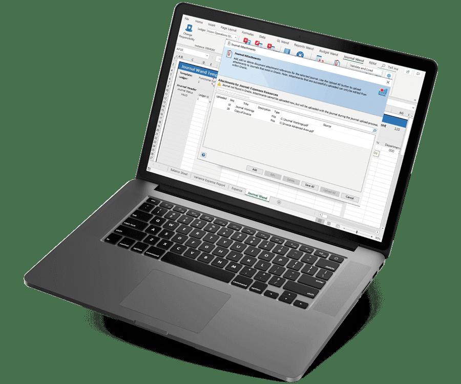 Oracle EBS Excel Journal Upload