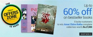 flipkart books discount sale