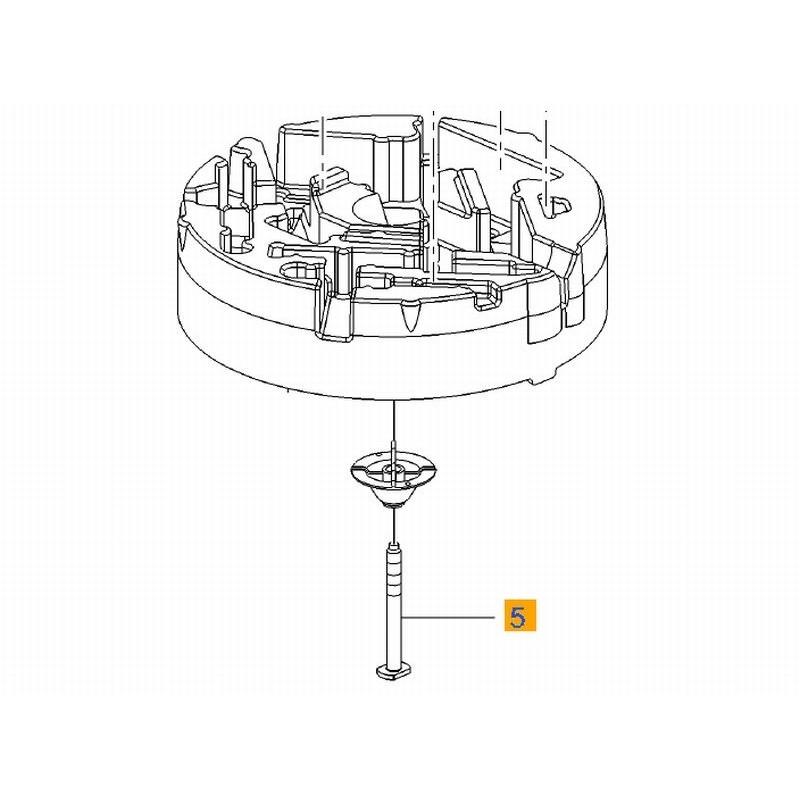 Śruba, mocowanie skrzynki, koła zapasowego INSIGNIA (od