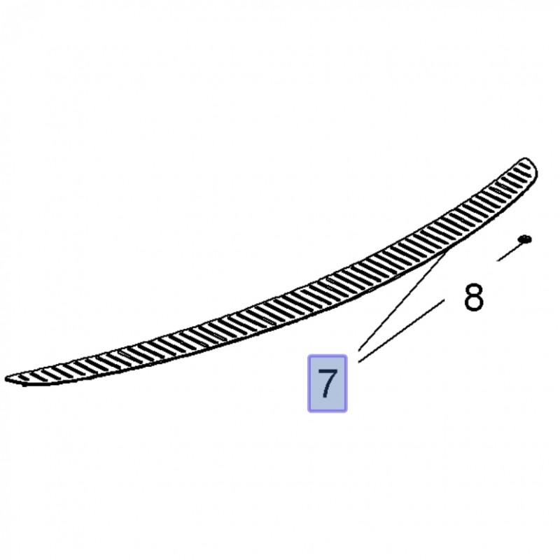 Listwa ochronna zderzaka tylnego 13317392 (Insignia A