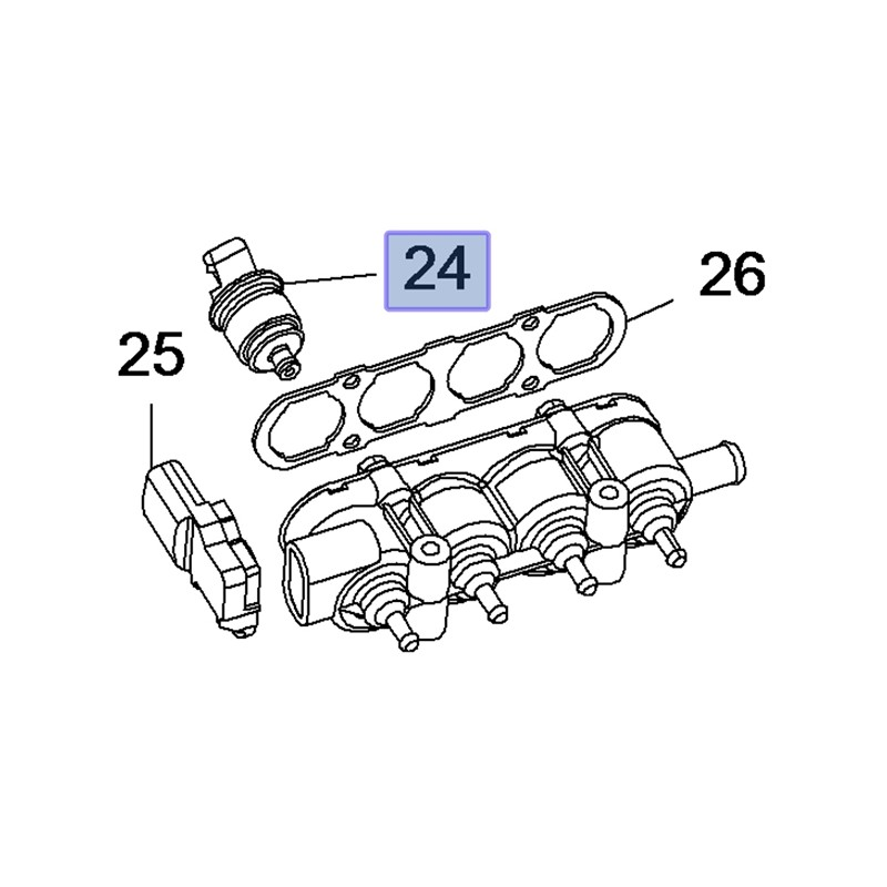 Wtryskiwacz LPG [zielony] 9271859 (Astra J, Corsa D