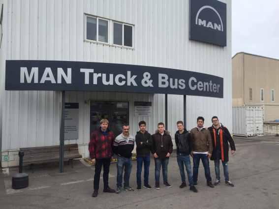 Visita empresa MAN Trucks