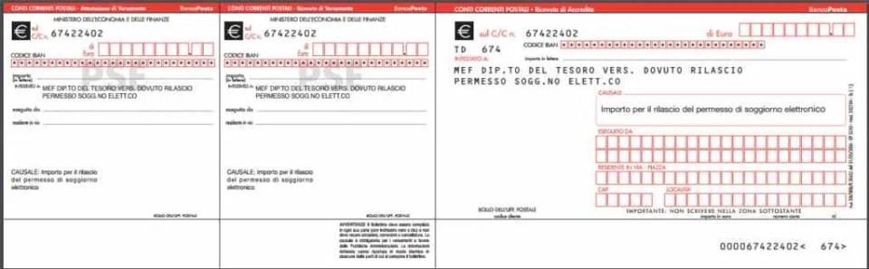 I costi del permesso di soggiorno 2019 quanto si paga for Documenti per rinnovo carta di soggiorno