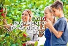 data pagamento della Disoccupazione Agricola 2018