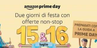 Le date in Italia per l'Amzon Prime Day 2019*