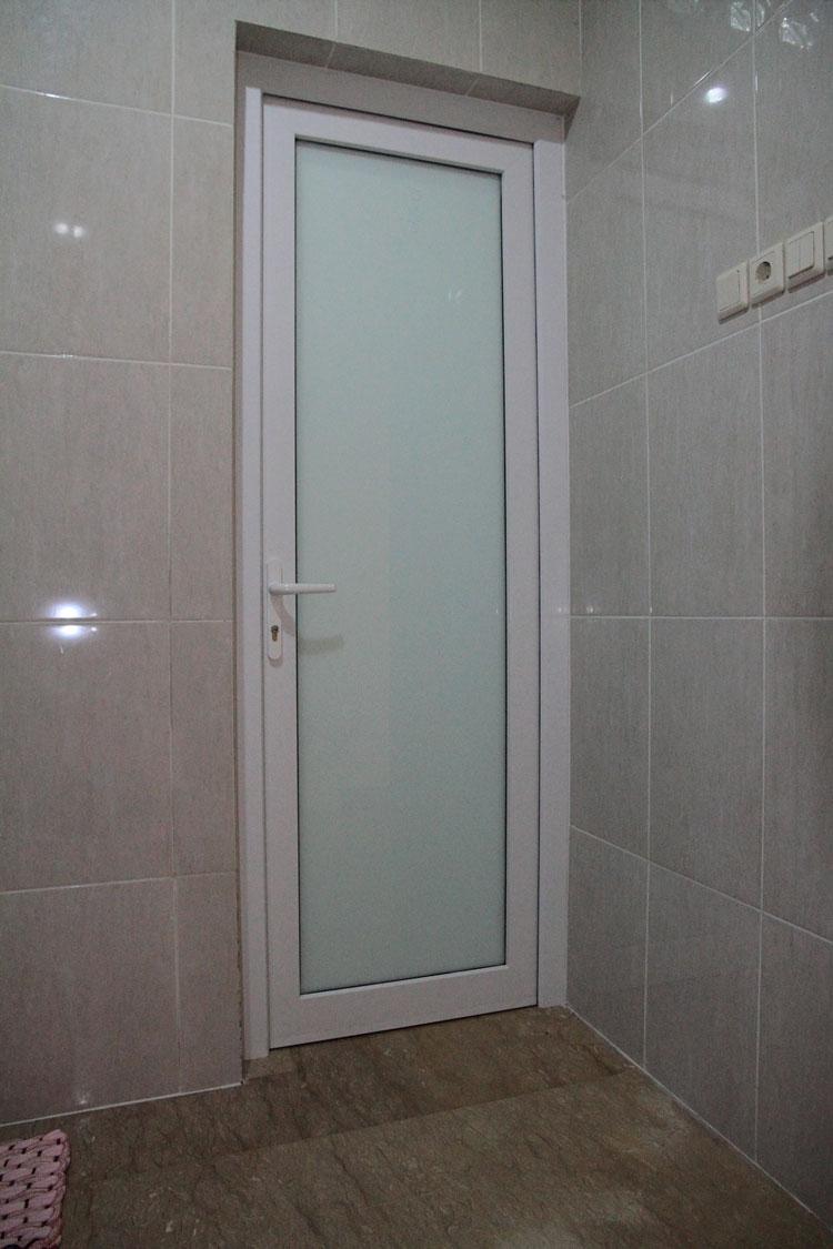 30 Harga  Model Pintu Kamar Mandi Alumunium PVC  Kaca