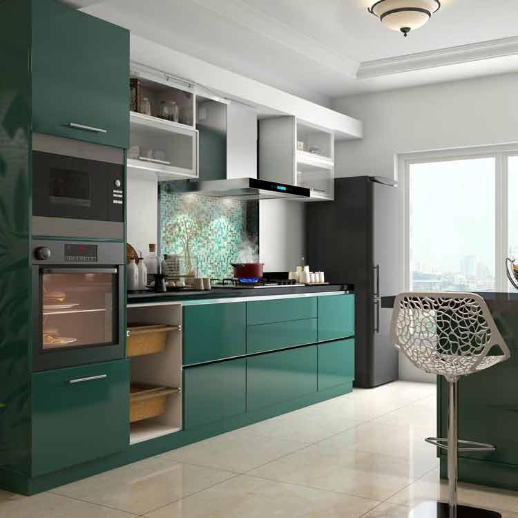 Kitchen Set Hijau Putih