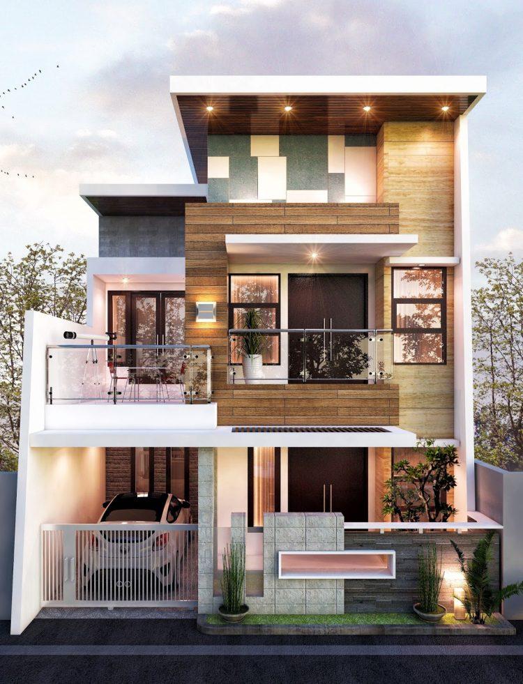 Lantai Rumah Minimalis : lantai, rumah, minimalis, Model, Rumah, Minimalis, Lantai, Sederhana, Modern