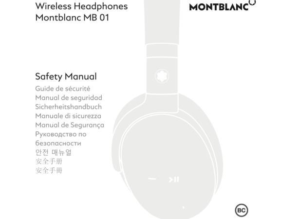 Montblanc e o fone de ouvido com Assistant