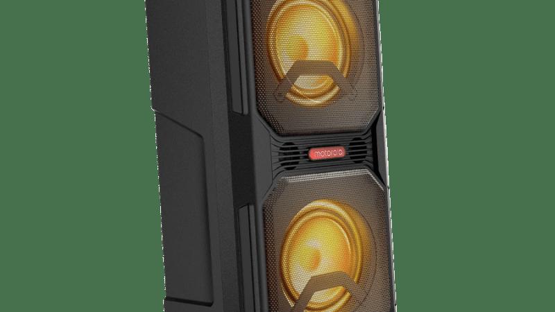 Motorola Sonic Maxx 820: uma caixa de som Bluetooth pra irritar seus vizinhos