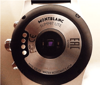 Montblanc Summit Lite com WearOS passou na Anatel