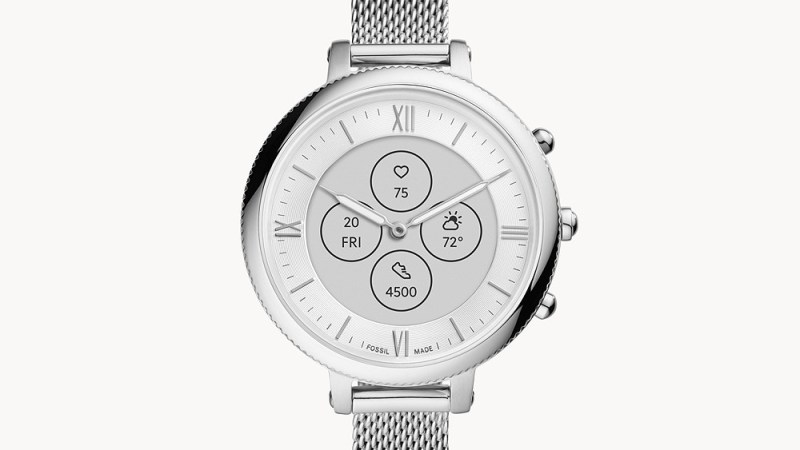 """Fossil homologa dois """"smartwatch híbridos"""""""