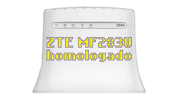 ZTE MF283U passa pela Anatel