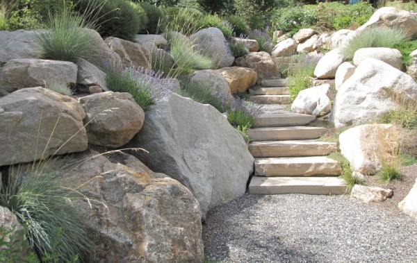 stone walls and steps - insite
