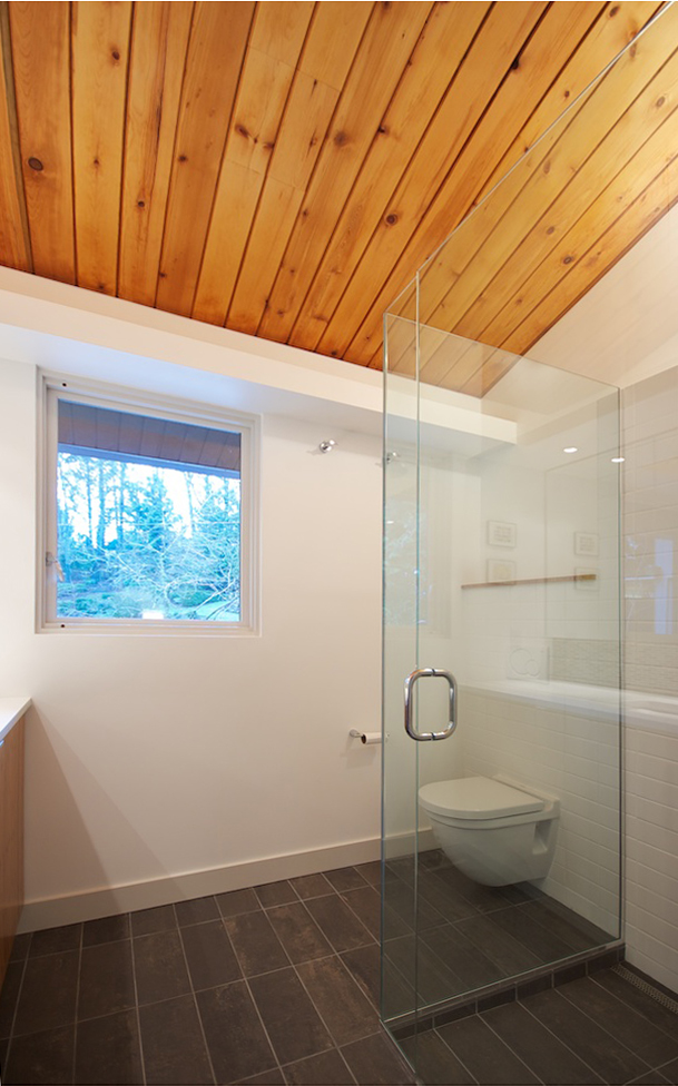 mid century bath  IN SITU
