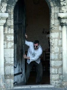 Ian Sandison in Oedipus Rex, 2007 (photo: Christine Cellier)