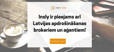 Insly now available for Latvian insurance brokers and agents!