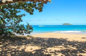 Plage de la Perle, Guadeloupe.
