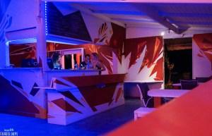 Red Pepper's bar intérieur comptoir
