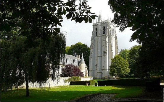 Le Clos de la Risle : Abbaye du Bec Hellouin