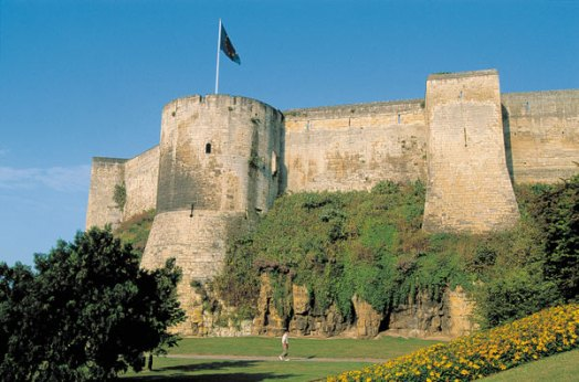 Château médiéval de Caen - www.normandie-tourisme.fr