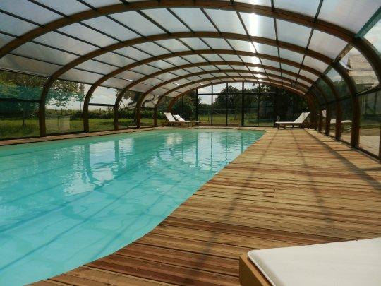Le Clos de la Risle - Grande piscine couverte et chauffée