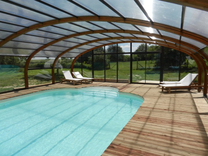Le Clos de la Risle : piscine chauffée