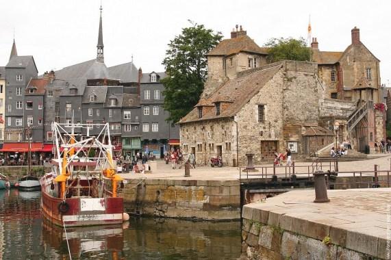 Le Clos de la Risle : Honfleur et son vieux port