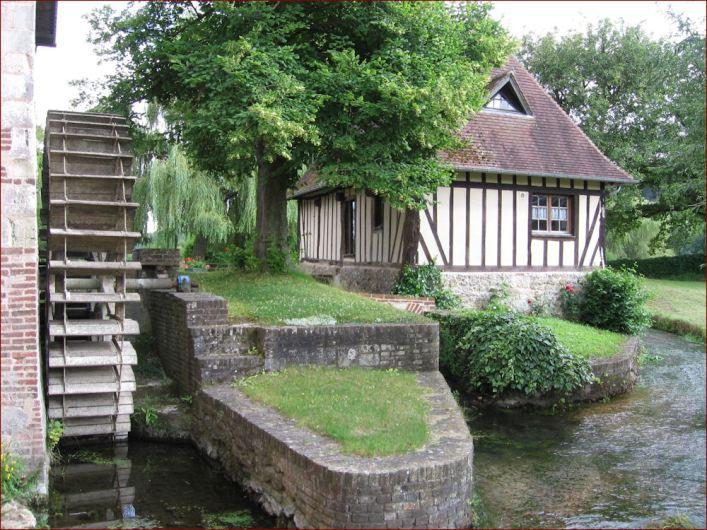 Le Clos de la Risle : Moulin du Bec Hellouin