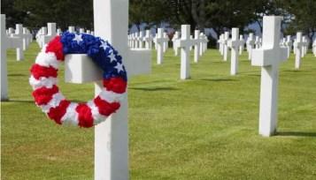 Le Clos de la Risle : cimetière américain de Colleville-sur-mer
