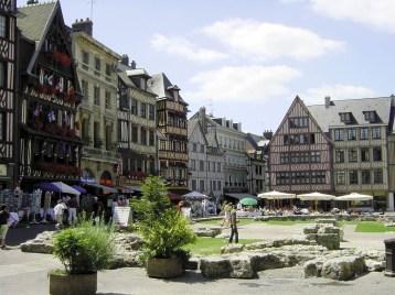 Place Jeanne d'Arc - Rouen