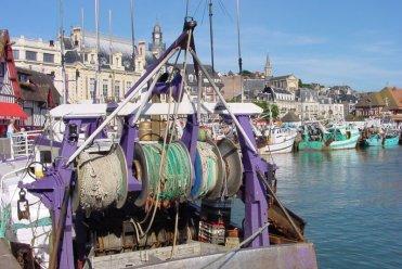 Le Clos de la Risle : Trouville - Bateaux de pêche