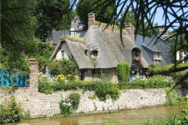 Le Clos de la Risle : visite de Veules-les-Roses