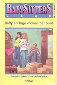 Image result for Babysitters club: Betty en Inge maken het bont - Ann M. Martin