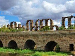 Aqueduct los Milagros with Roman bridge © Deborah Cater
