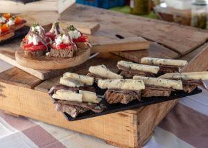 Tapas - queso - cheese