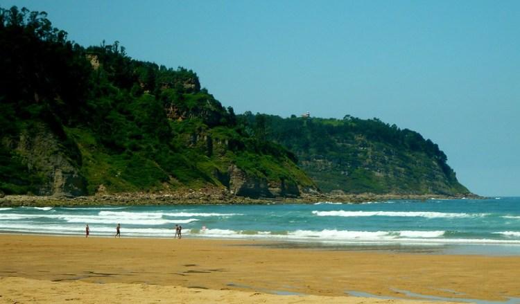 Rodiles beach, Asturias