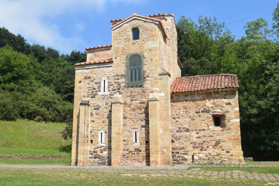 Oviedo stone church