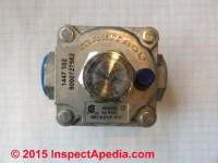 LP or Natural Gas Pressure Regulators: Functions of gas ...