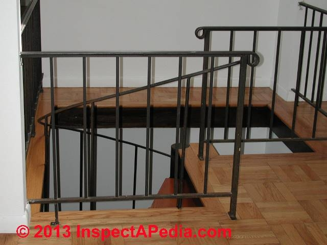 Railings Guardrails Stair Rails Handrailings Codes | Wooden Handrails For Outdoor Steps | Wall Mounted Wooden | Prefab | Lighting Outdoor | Deck | Outdoor Garden Path
